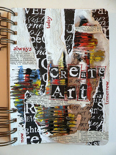 Sketchbook Cover Collage : Von pappe ii art journaling quot create every day