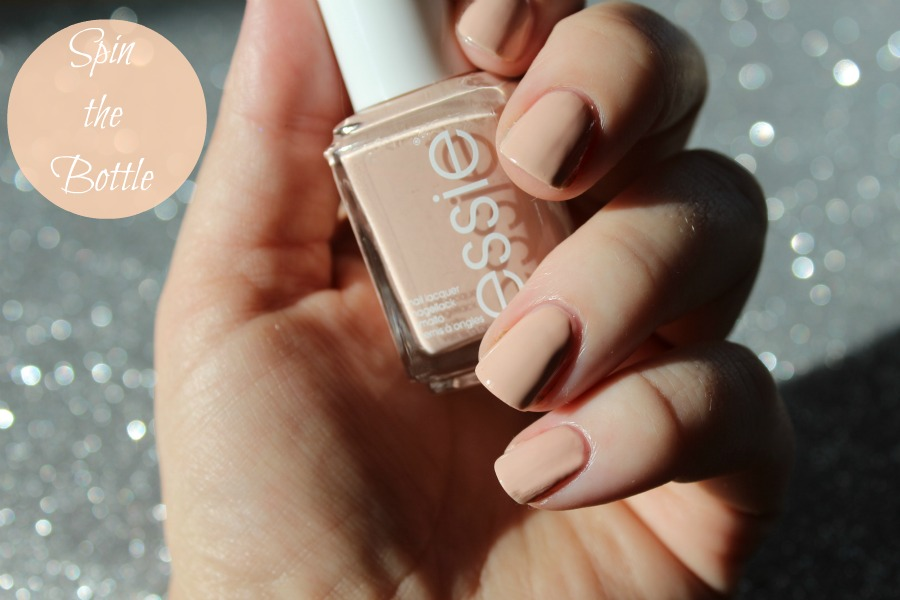Essie Spring 2014, Hide & Go Chic Collection, Spin the Bottle swatch