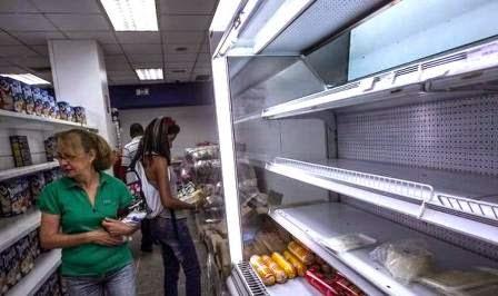Inventarios de alimentos caen a niveles alarmantes en Venezuela