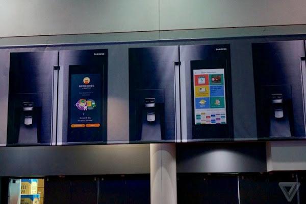 Samsung dự định phát hành tủ lạnh chạy Android tại CES 2016