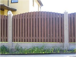 Деревянный забор. Фото 2