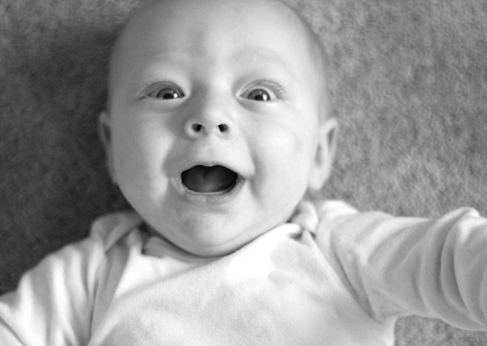 six month old boy development