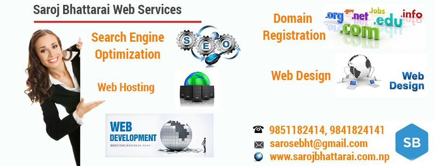 Resonsive Web Designing in Nepal, Saroj Bhattarai Web Design