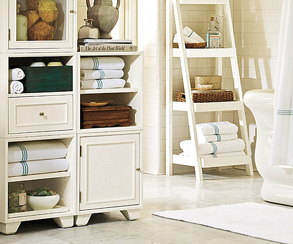 Pottery Barn Bathroom Storage remodeling photo