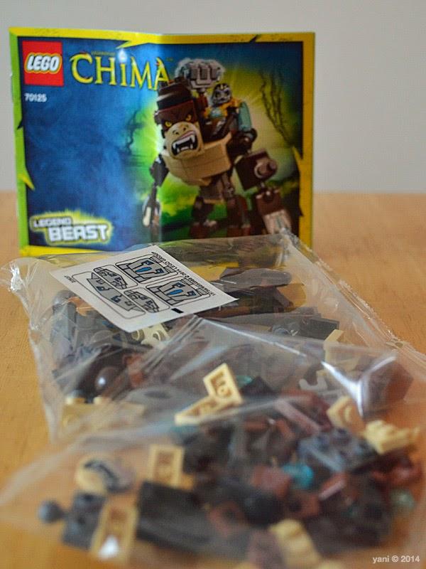 lego chima legend beast gorilla - outta da box