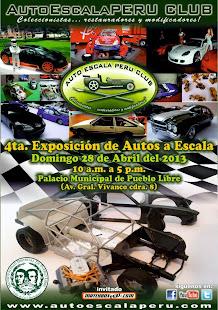 Exposición AutoEscalaPERU CLUB