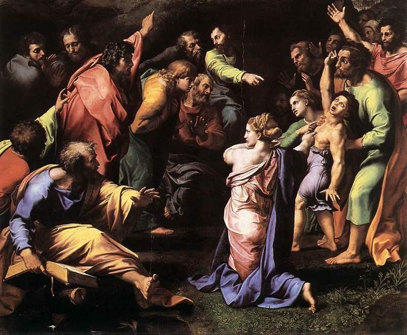 Raphael's Transfiguration of Christ | Catholic News Live