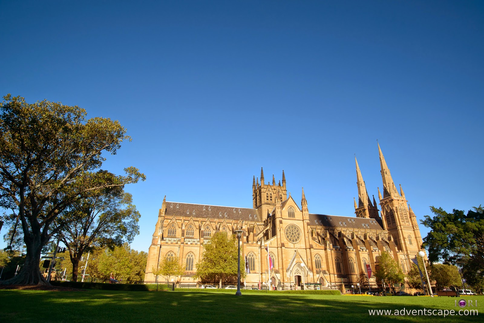 Philip Avellana, Australian Landscape Photographer, NSW, New South Wales, Sydney, Australia, St Mary's Cathedral, church, comparison, review, glass vs resin, filters, Lee Filters, soft ND, ND, neutral density, graduated neutral density, GND, grad nd