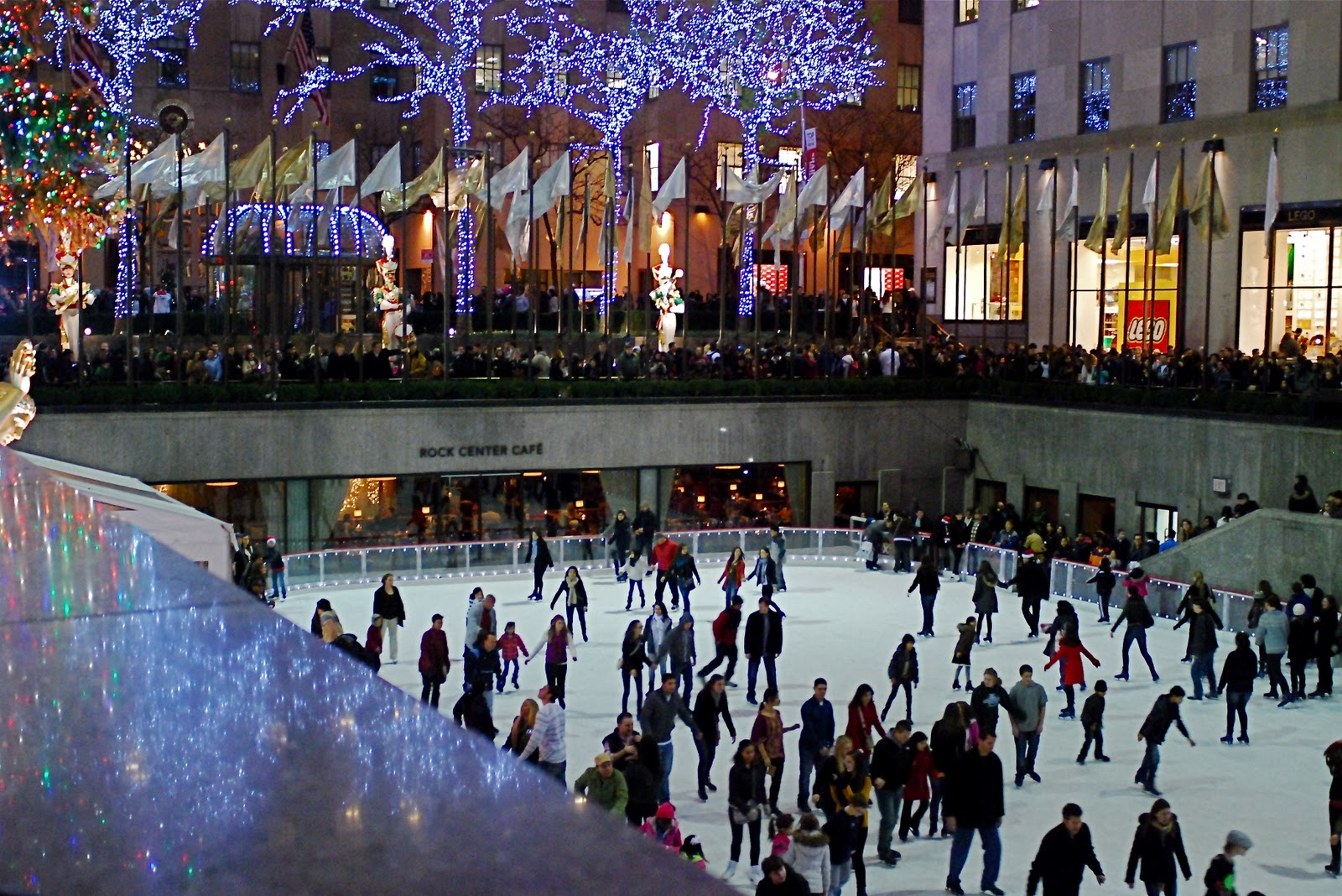 NYC ♥ NYC: The Rink at Rockefeller Center Celebrates its 75th Anniversary on Christmas Day