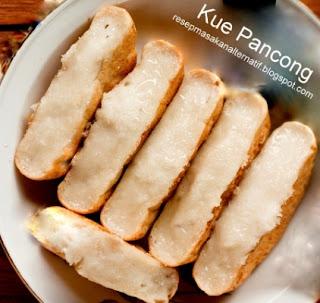 Resep Kue Pancong Kelapa Tepung Beras Manis