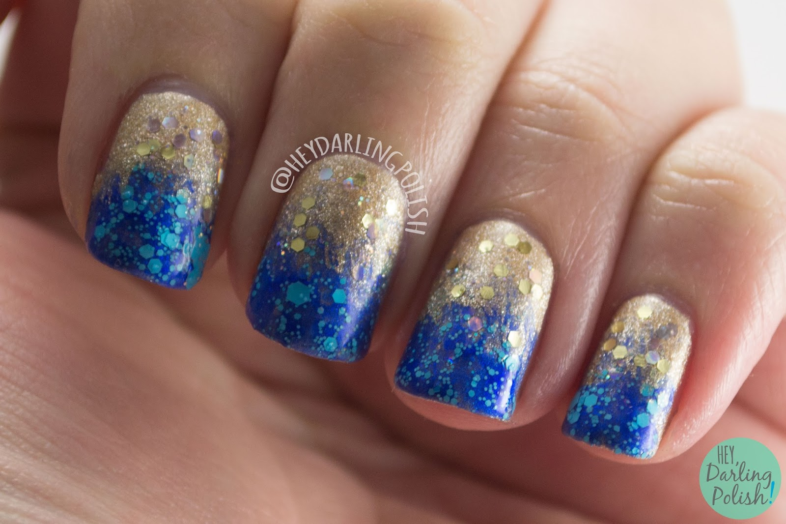 Hey, Darling Polish!: NAIL Linkup: New Year\'s Eve
