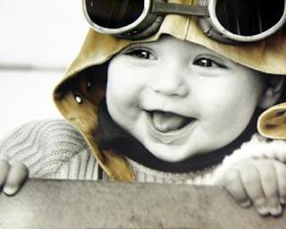 sonrisa de bebe