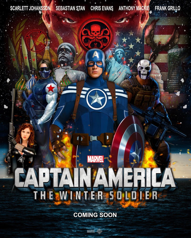 Captain America The Winter Soldier (2014) CAM