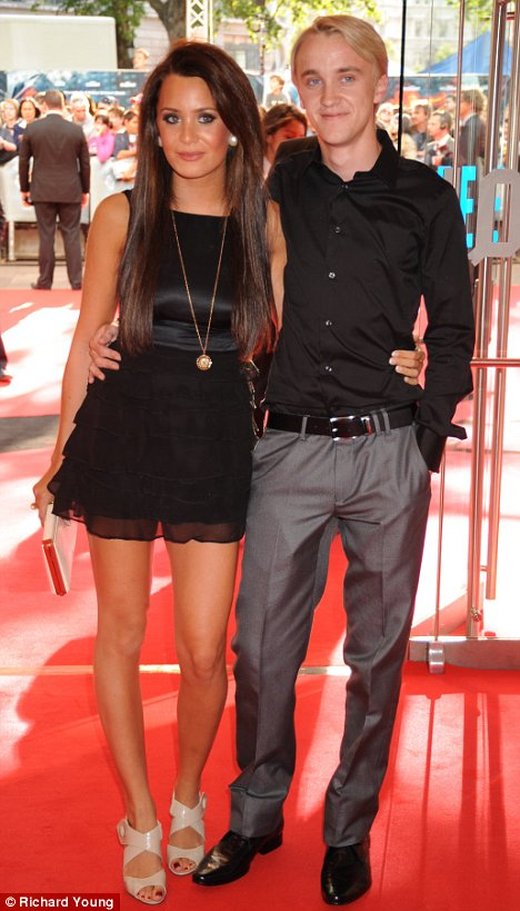 tom felton and jade gordon. tom felton and jade