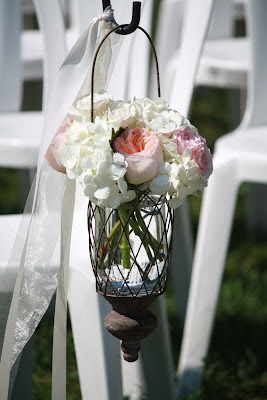 Saratoga Hall of Springs Hanging Vases - Splendid Stems Event Florals