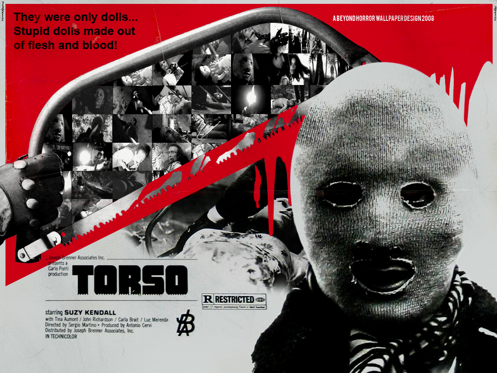 Lace curtains living room - Beyond Horror Design Torso Sergio Martino 1973