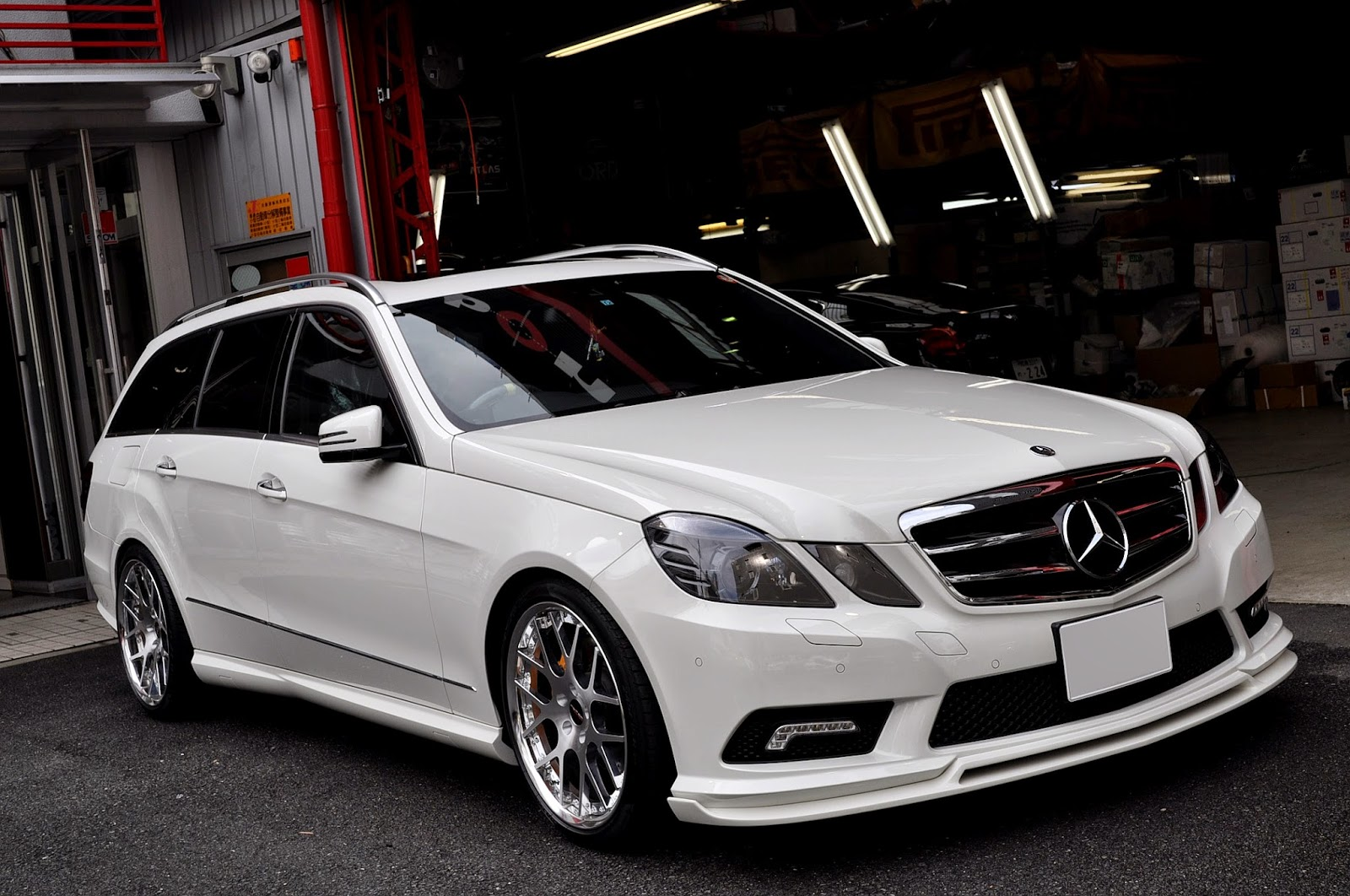 mercedes e wagon