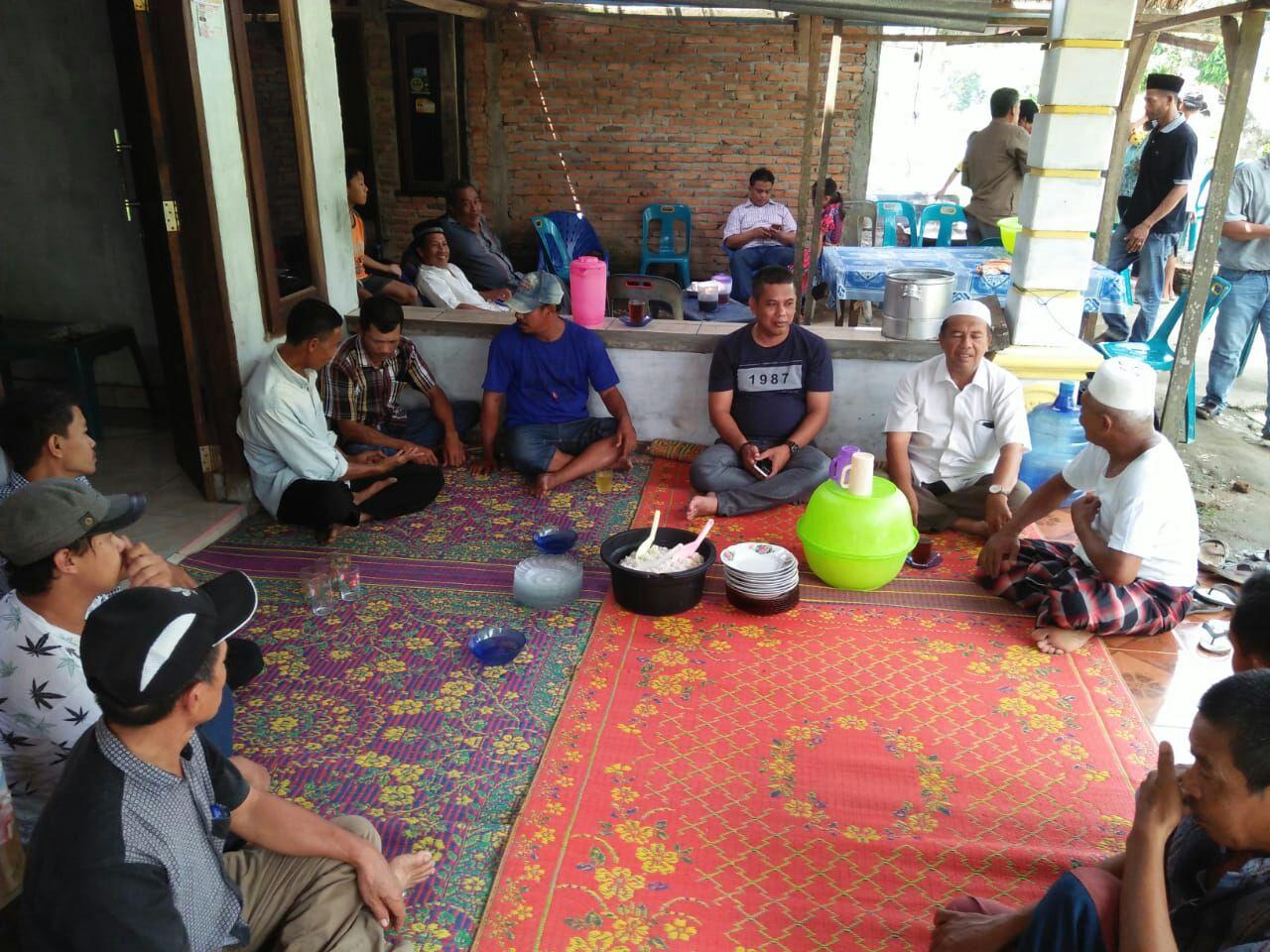Warga Desa Secanggang Potong 2 Ekor Domba Karena Paslon Terasa Menang