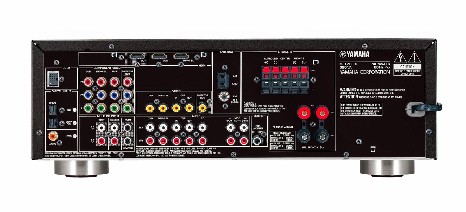 Yamaha Htr   Channel Av Receiver