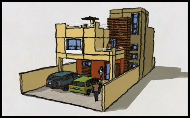 Rc i e s gran v a alicante ejemplos de viviendas unifamiliar for Casa moderna minimalista 6 00 m x 12 50 m 220 m2