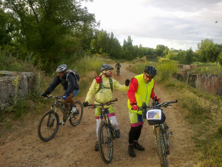 Los 300 Km del Canal de Castilla. 06 y 7 de junio.2014.