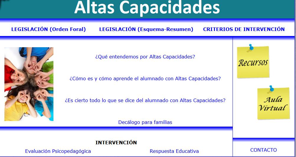 http://creena.educacion.navarra.es/equipos/altascapacidades/