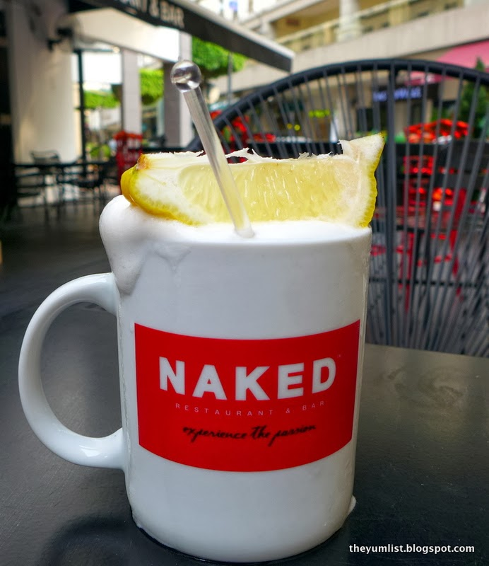 Naked, Plaza Damas, cocktails, American food