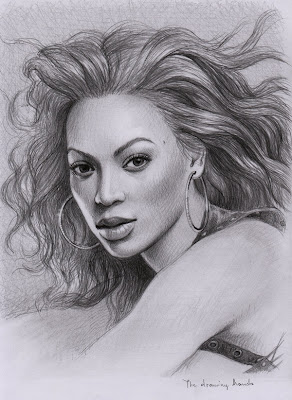 pen illustations of beyonce - hot illustrations - بيونسيه
