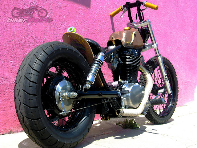 s40 suzuki savage brat bobber in los angeles | machine-13