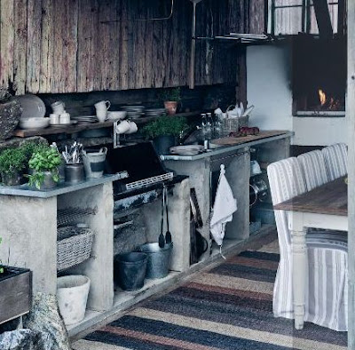 Boiserie c cooking again eclectic unique kitchens - Cucina in veranda ...