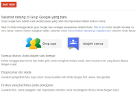 Cara Membuat Milis/Mailing List di Grup Google/Google Groups