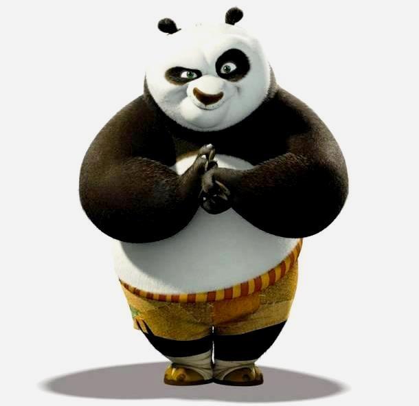 Gambar kartun Kung Fu Panda - 4