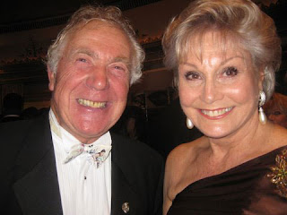 Gordon King and Angela Rippon