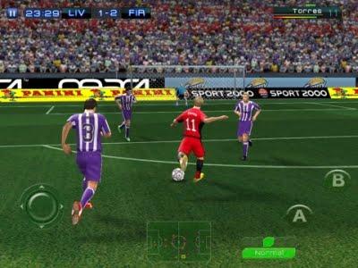 Juegos de Gameloft para Android en HD Juego Real Football 2011 HD