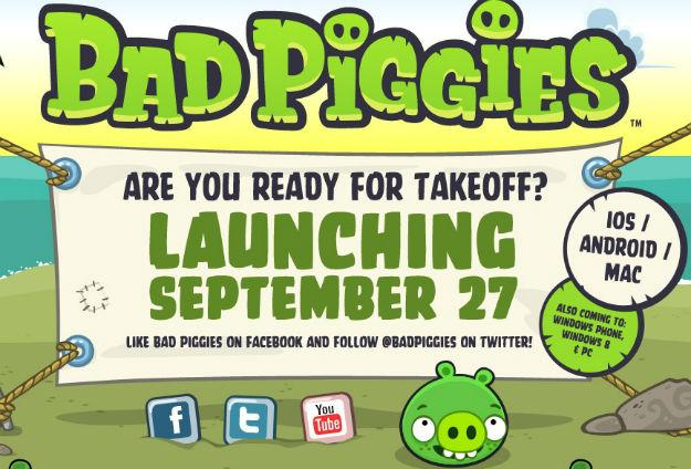 rovio, bad piggies, bad piggies free download, angry birds, bad piggies launch,