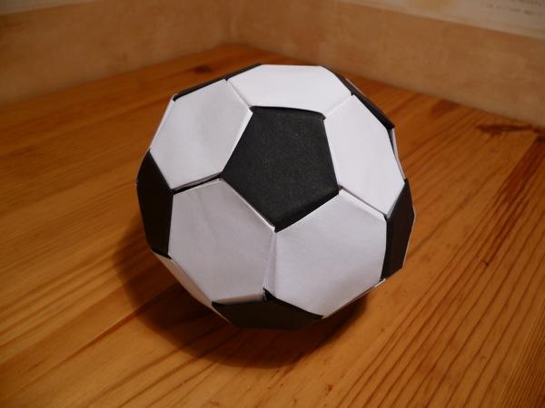origami maniacs origami soccer ball