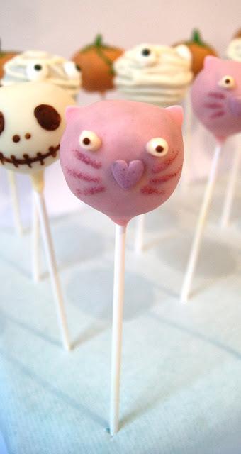 cake pops halloween