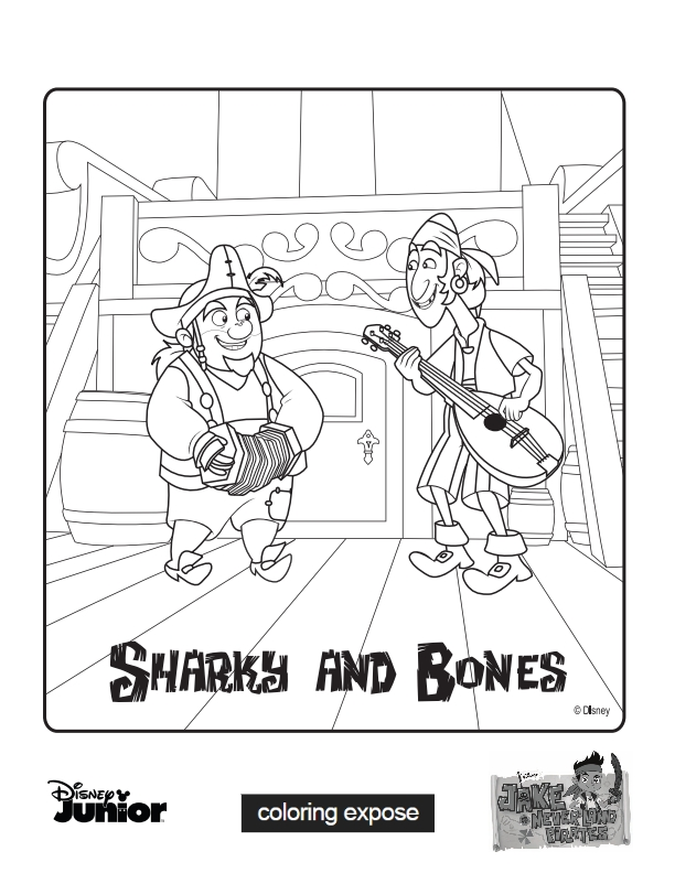 Bone Coloring Pages