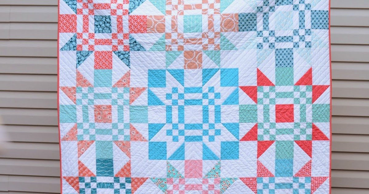 Hyacinth quilt designs red letter day for Red door design quilts