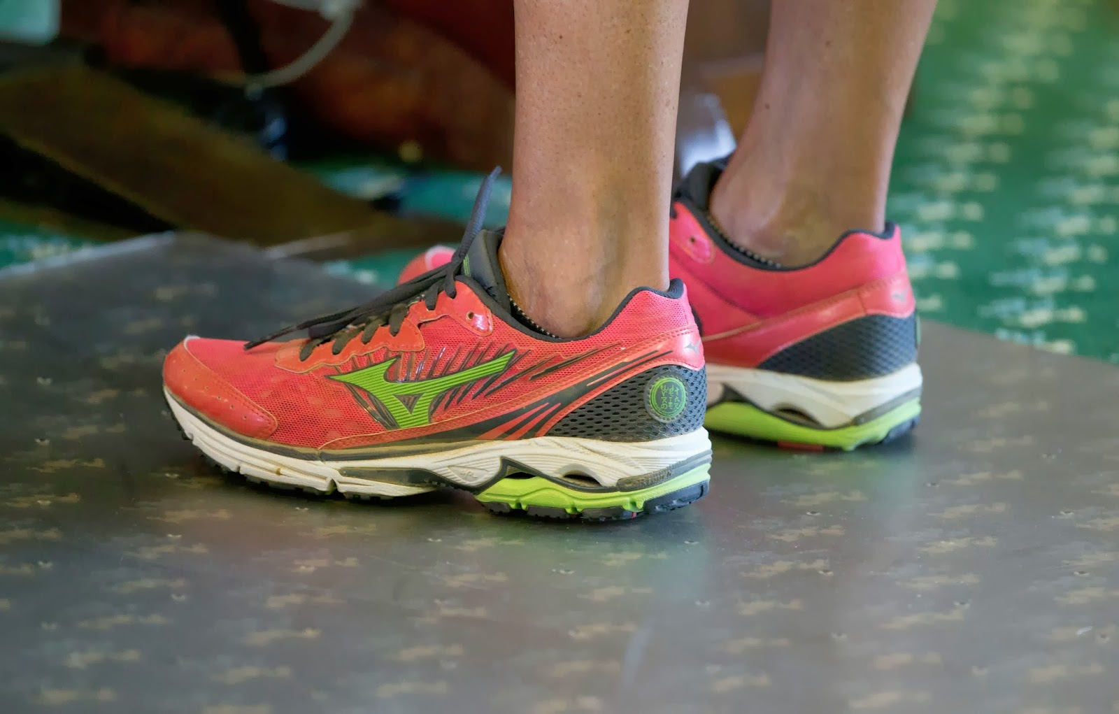 Wendy Davis Pink Tennis Shoes