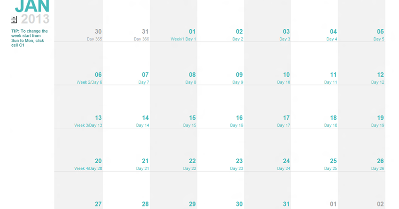 Microsoft Office 365 Sample Resume Templates: Julian 2013 Calendar