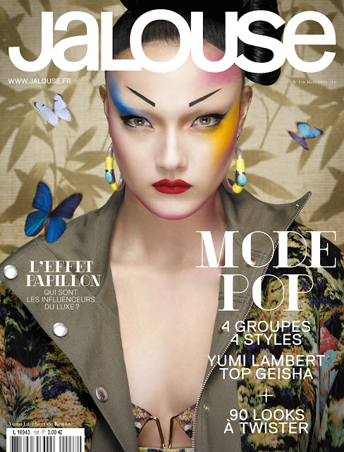 Yumi Lambert Jalouse Cover March 2013