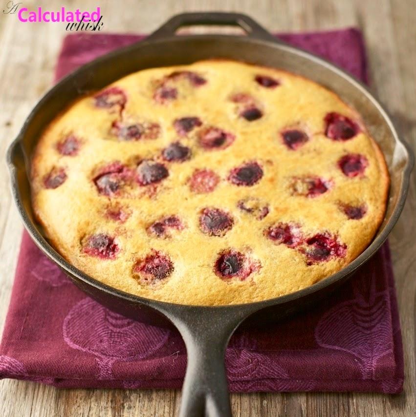 Cherry Clafoutis (Gluten free, Grain free)