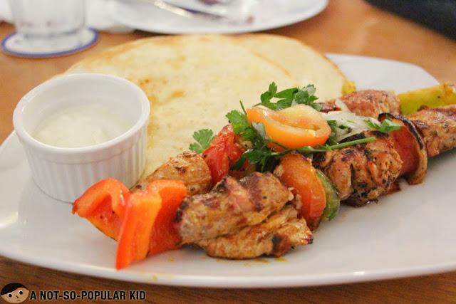 Cyma Greek Cuisine in Greenbelt 2, Makati City