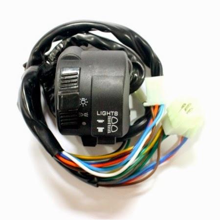 Modifikasi Motor AHO Menjadi Lampu Saklar