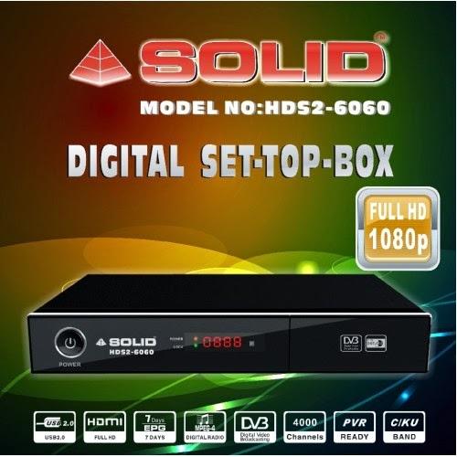 Solid HDS2-6060 DVB-S2 / MPEG-4 / Full HD Set-Top Box