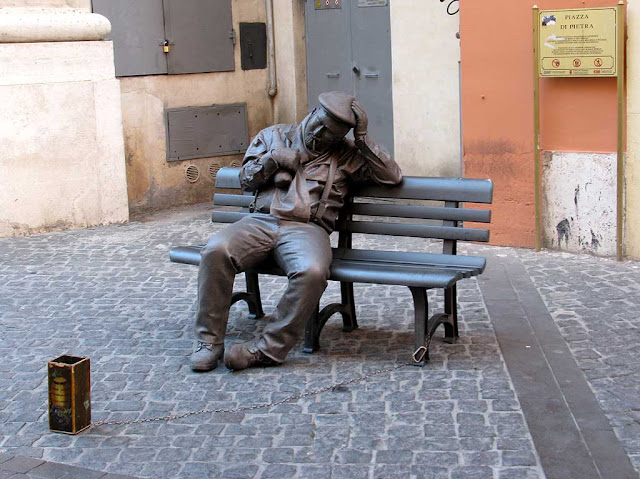 Bench, Rome