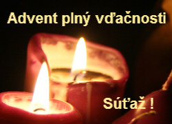 Advent plny vdacnosti - sutaz