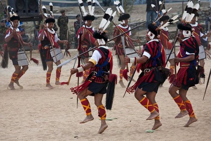 Sumi Naga dance, Nagaland - Johan Gerrits photography