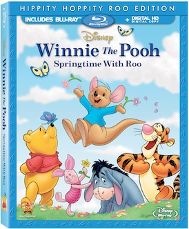 winnite the pooh- springtime with roo cover